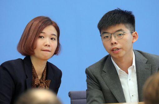 Joshua Wong macht die Weltmacht nervös