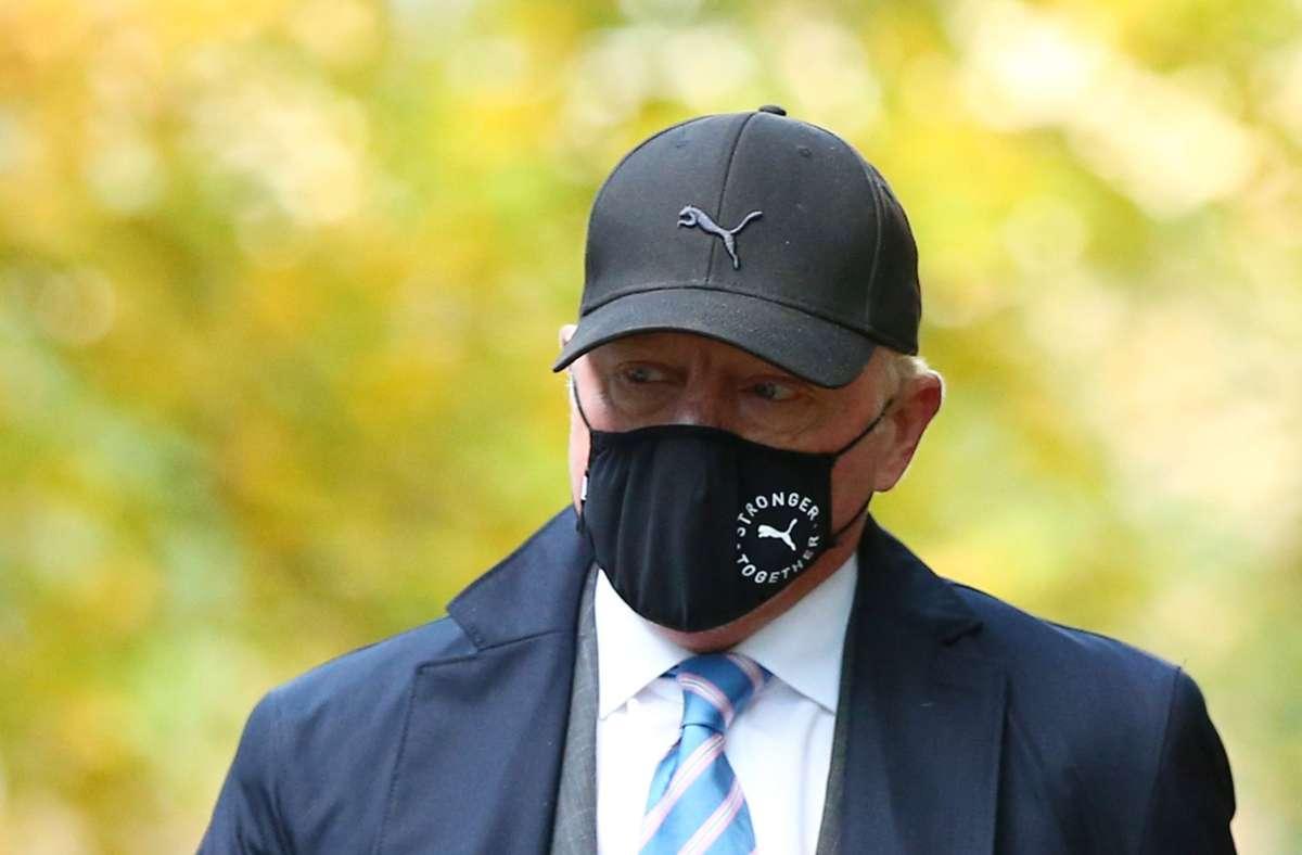 Die britische Insolvenzbehörde wirft Boris Becker vor,  Bankkonten und Immobilien im großen Stil verheimlicht zu haben. Foto: AFP/HOLLIE ADAMS