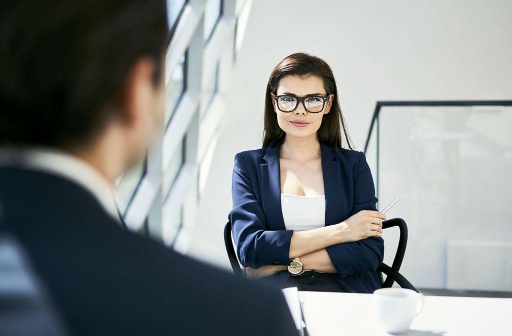 Cool bleiben: Der Trend geht zu besonderen Fragen im Jobinterview. (Symbolbild) Foto: imago/Westend61/Bartek Szewczyk