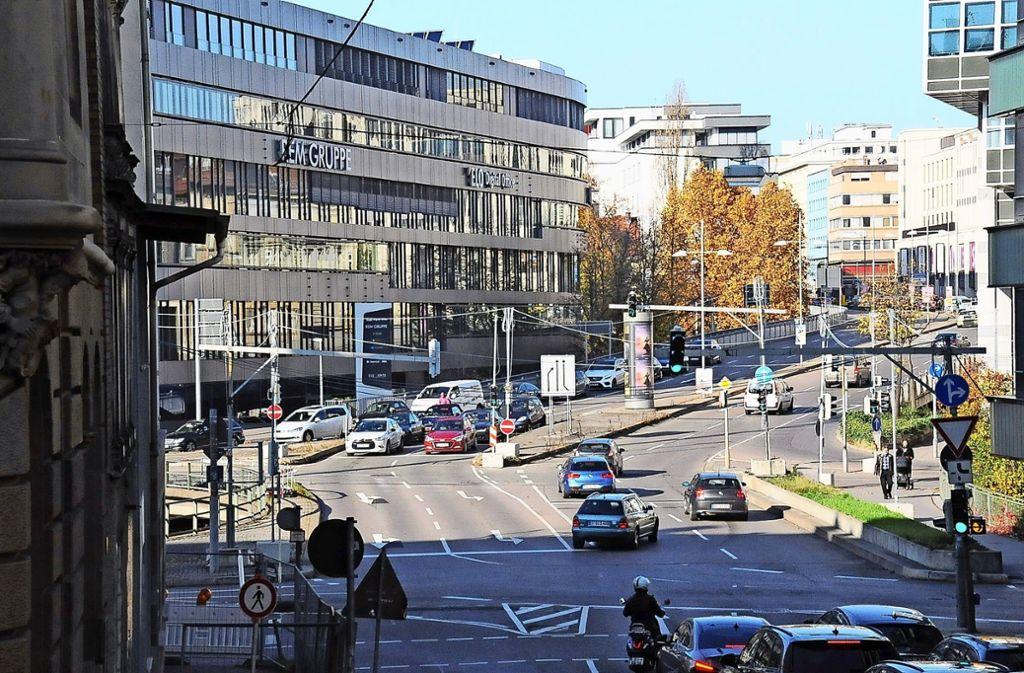 Im Mittelpunkt des Reallabors  steht diesmal der Österreichische Platz. Foto: Georg   Linsenmann