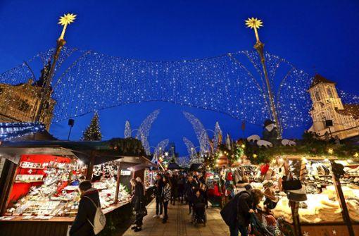 Ein Weihnachtsmarkt ohne Glühweinstand?