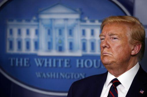 Trump rät zum Tragen von Masken - will sich aber nicht daran halten