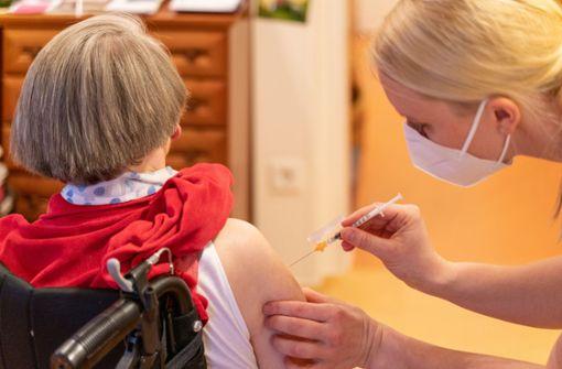Erschwerte Impfung von Hochbetagten