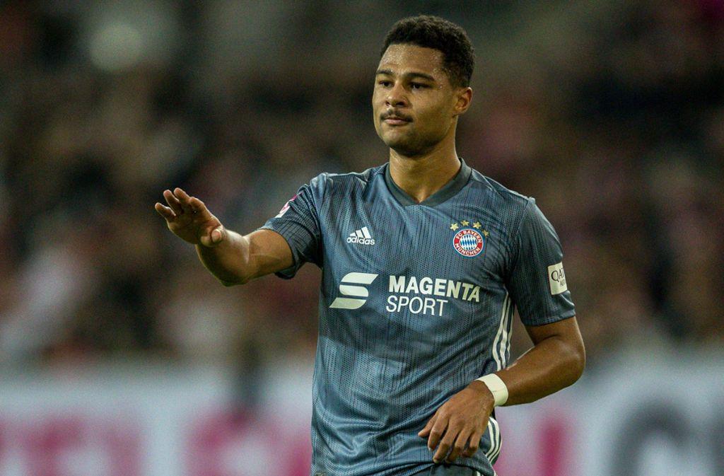 Der FC Bayern München kann gegen den VfB Stuttgart wieder auf Serge Gnabry setzen. Foto: Bongarts
