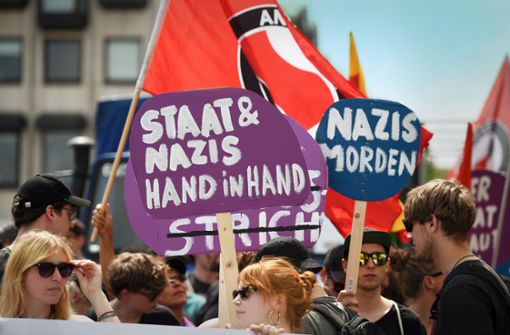 Bedrohung der Demokratie von rechts