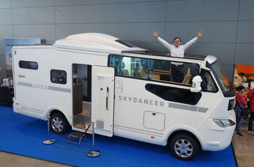 Wohnmobil mit Cabrio-Flair
