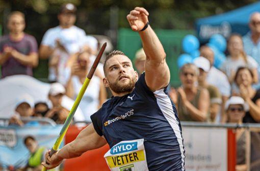 Johannes Vetter siegt bei Heimwettkampf