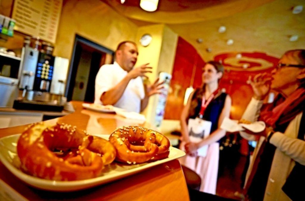 Harald Dreßler führt die Bäckerei in der vierten Generation. Foto: Heinz Heiss