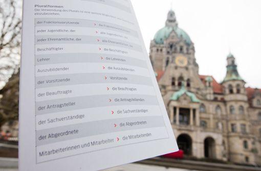 Die totalitäre Sprachpolizei von Hannover