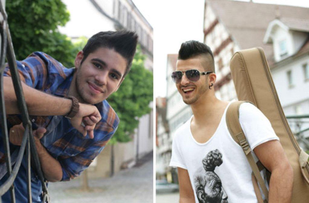 Die local heroes Alessio Intemperante (links) aus Herrenberg und Cem Özdemir aus Leonberg. Foto: ProSieben/Laura Schleicher/Dominic Hatt