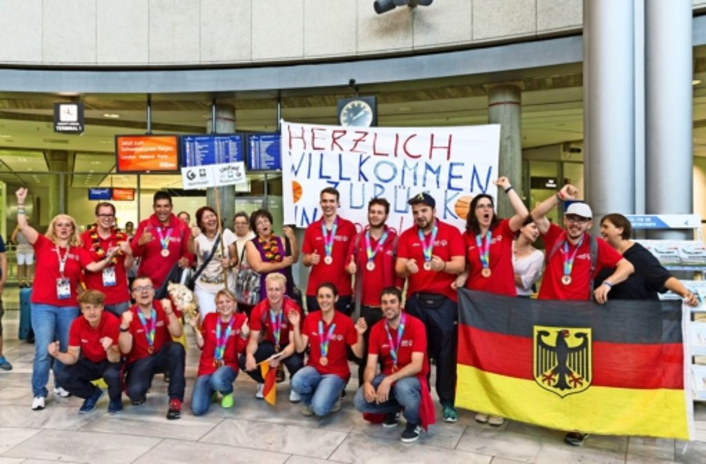 Am Dienstag ist das Team wieder in Deutschland angekommen. Foto: privat