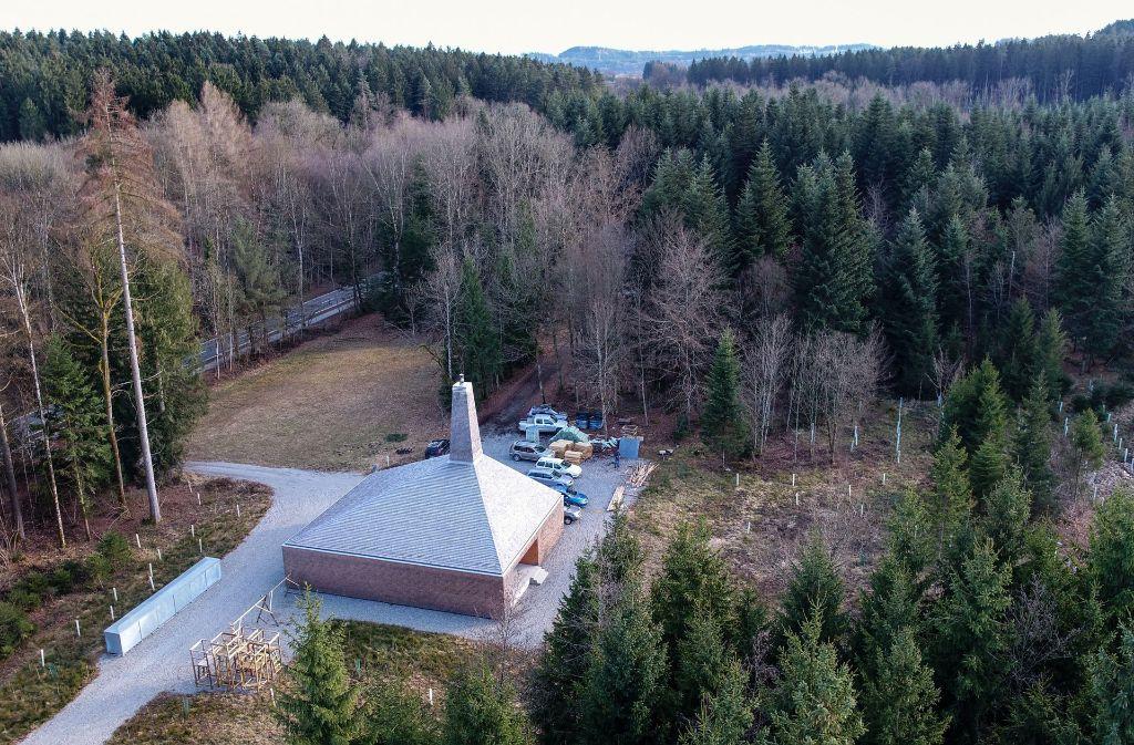Ein schöner Bau, aber viel zu teuer: der Mehrzweckbetriebshof Tannau. Foto: dpa