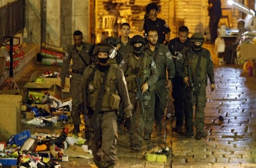 Israel beschränkt Zugang zu Altstadt von Jerusalem