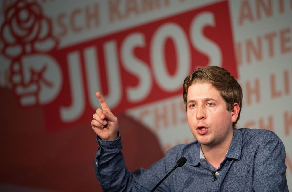 Kevin Kühnert hat seine Kritik nochmals bekräftigt. Foto: dpa