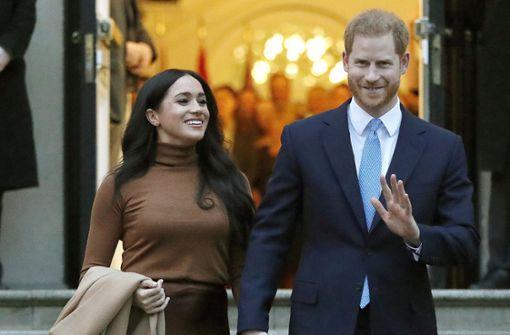 Prinz Harry und Herzogin Meghan  werden Hollywood-Produzenten