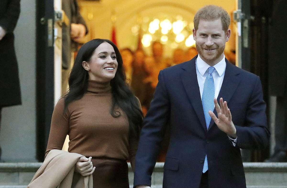 Herzogin Meghan und Prinz Harry steigen ins Filmbusiness ein. Foto: dpa/Frank Augstein