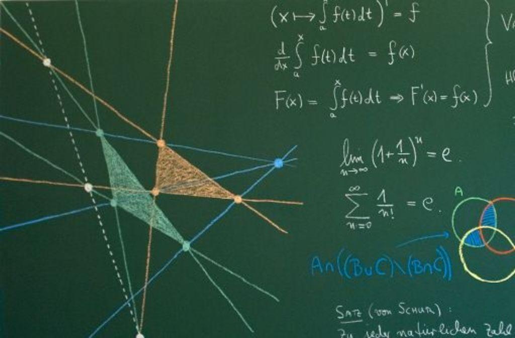 Wer ist mathematisch begabter? Jungen oder Mädchen? Foto: dpa-Zentralbild