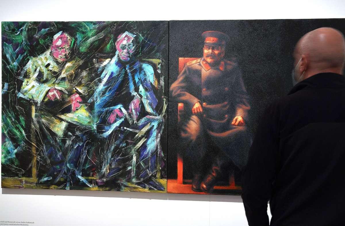 """Die Ausstellung """"documenta. Politik und Kunst"""" im Deutschen Historischen Museum in Berlin feiert und hinterfragt die große Kunstschau. Foto: epd/Juergen Blume"""