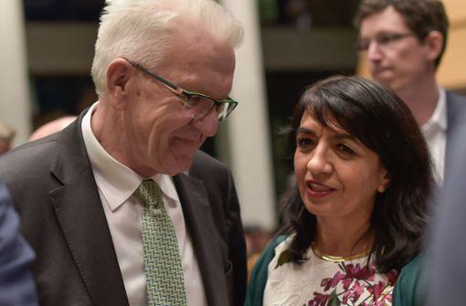 Kretschmann: Demokratie verteidigen