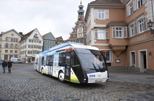 Esslingen baut das O-Bus-Netz weiter aus