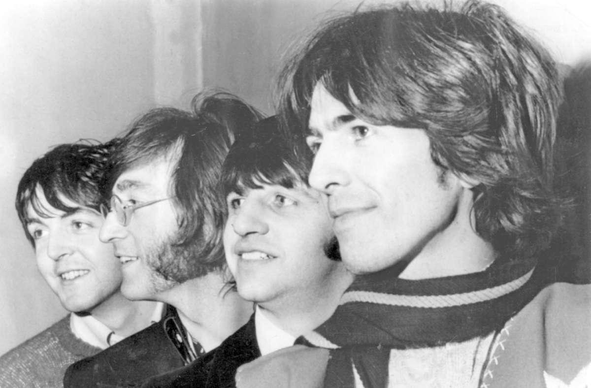 Legenden aus Liverpool (v.l.): Paul McCartney, John Lennon, Ringo Starr und George Harrison Foto: dpa/Lapresse