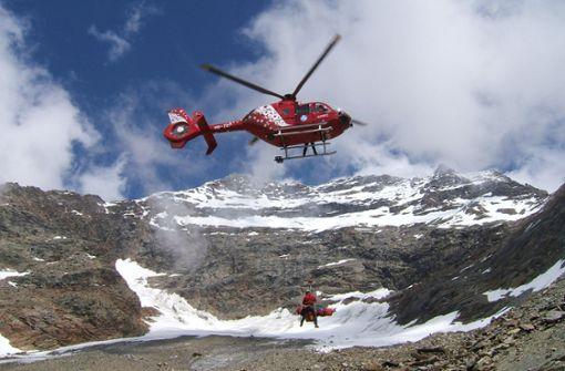 Deutscher Bergsteiger von Blitz getötet