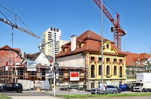 Wie zwei Schandflecke wieder zu barocken  Prachtbauten werden