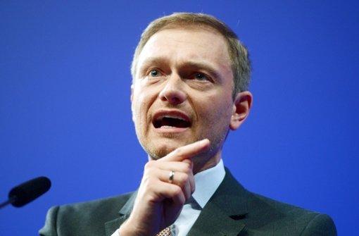 Lindner fordert Friedrichs Rücktritt