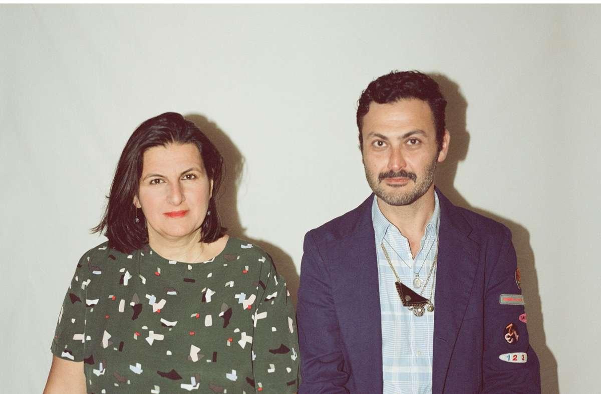 Çağla Ilk und Misal Adnan Yıldız sehen die Kunsthalle Baden-Baden als Lernort. Foto: Göksa Baysal