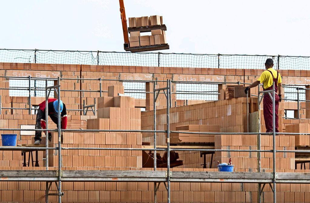 Häusle bauen, Häusle bauen: Wer kann sich das in und um Stuttgart noch leisten? Foto: dpa