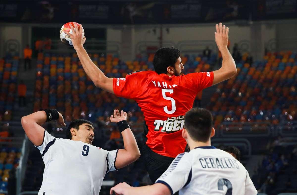 Ägypten startet erfolgreich in die Handball-WM. Foto: dpa