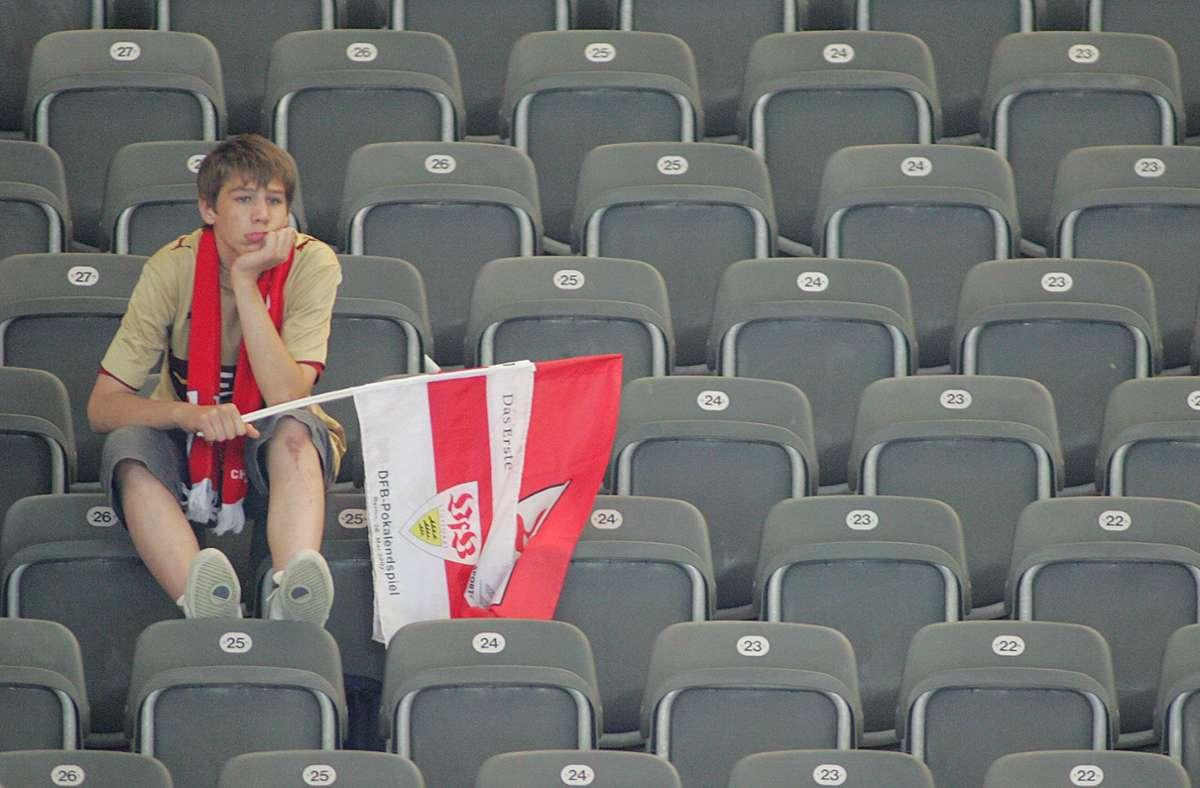 Reichlich Abstand zum Sitznachbarn – ein entscheidendes Kriterium für die baldige Rückkehr ins Stadion. Foto: imago