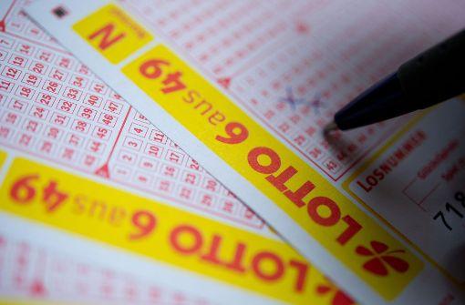 Lotto-Jackpot wird ausgeschüttet