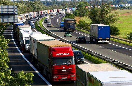 In den Industrieländern sind Lkw eine bedeutende Quelle für Rußpartikel. Foto: dpa