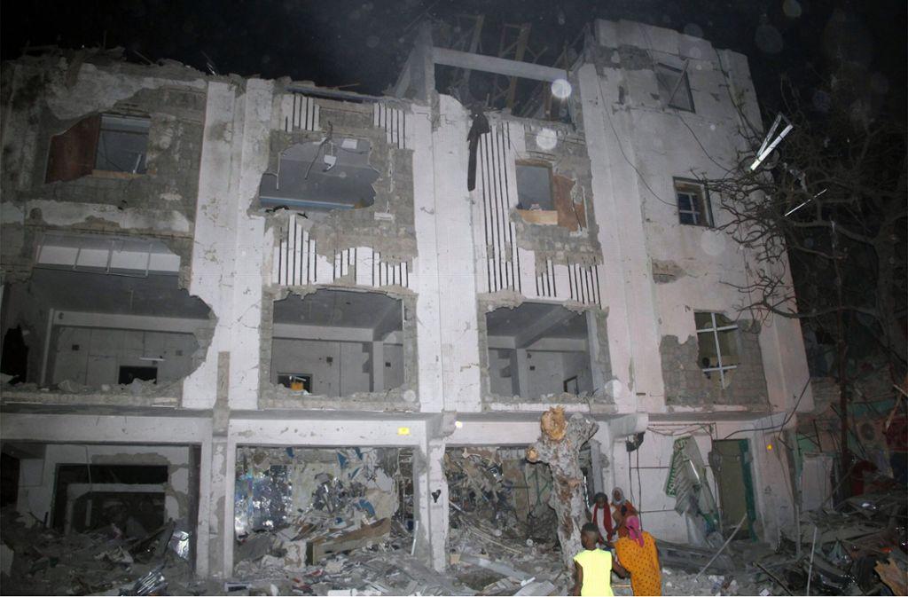 In Somalias Hauptstadt Mogadischu gab es eine schwere Explosion. Foto: AP
