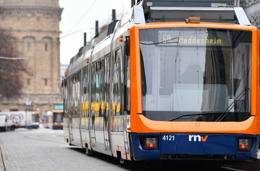 Straßenbahn in Mannheim entgleist