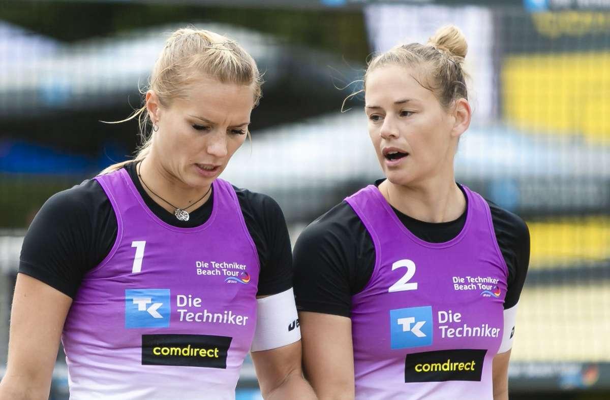 Kim Behrens (li.) und Cinja Tillmann haben vor Gericht einen wichtigen Erfolg gefeiert. Foto: dpa/Frank Molter