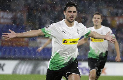 Borussia Mönchengladbach feiert Last-Minute-Punkt in Rom
