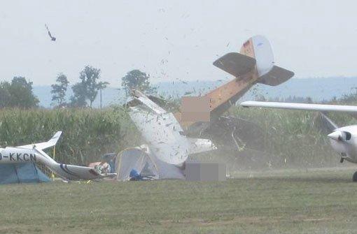 Schwerer Flugunfall bei Tannkosh-Fliegertreffen wohl Pilotenfehler