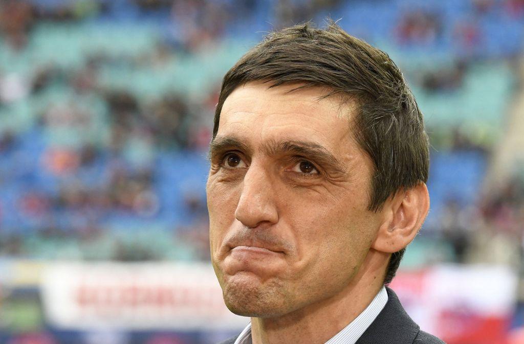 Der VfB Stuttgart hat in Tayfun Korkut einen neuen Cheftrainer gefunden. Foto: AP