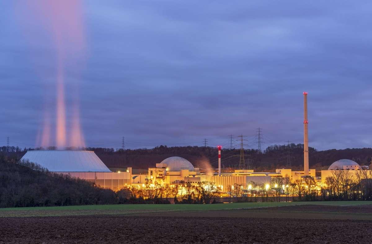 Im Kernkraftwerk Neckarwestheim gab es eine undichte Stelle. (Archivbild) Foto: imago images/imagebroker