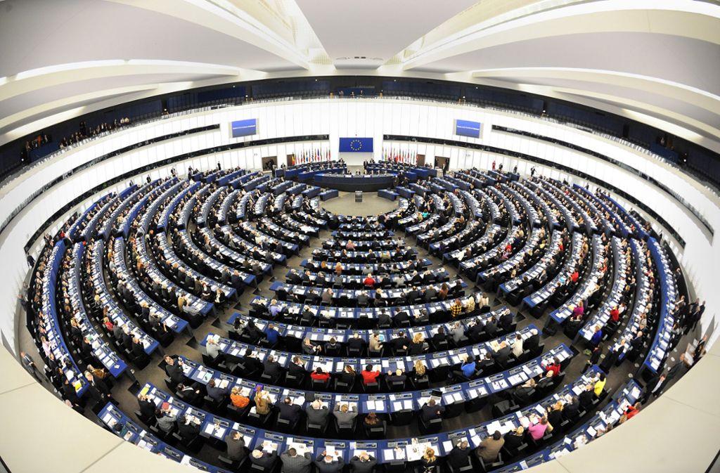 Die Sitzverteilung im Europäischen Parlament wird sich durch den Brexit  verändern. Foto: dpa/Patrick Seeger