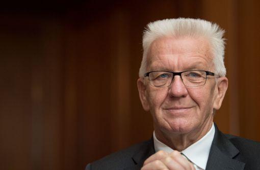 Kretschmann will Fahrverbote in Stuttgart abwenden