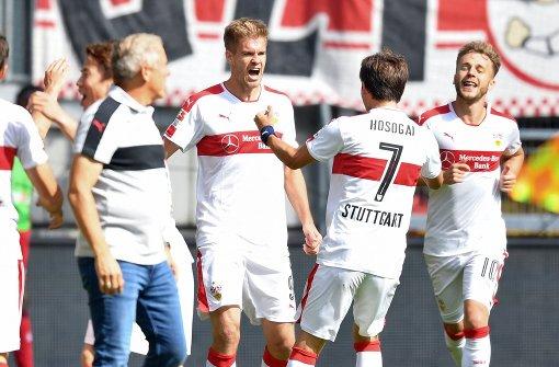 Der VfB ist zurück in der Spur
