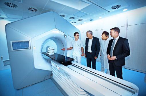 Kampf dem Krebs mit modernster Technik