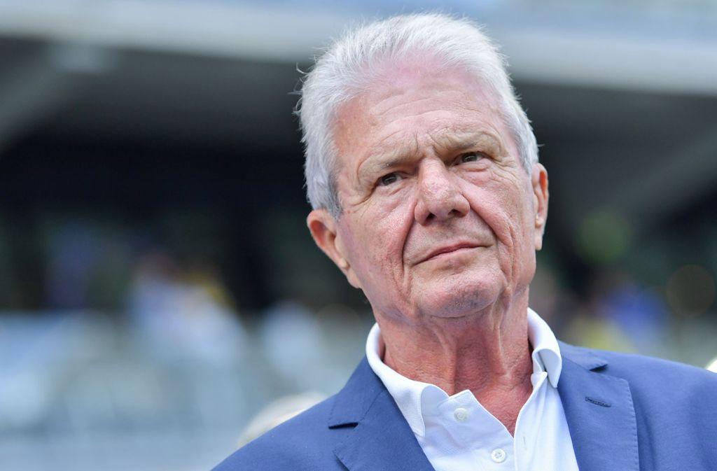 Dietmar Hopp wurde vor der Corona-Pause wochenlang  angefeindet. Foto: picture alliance/dpa/Uwe Anspach