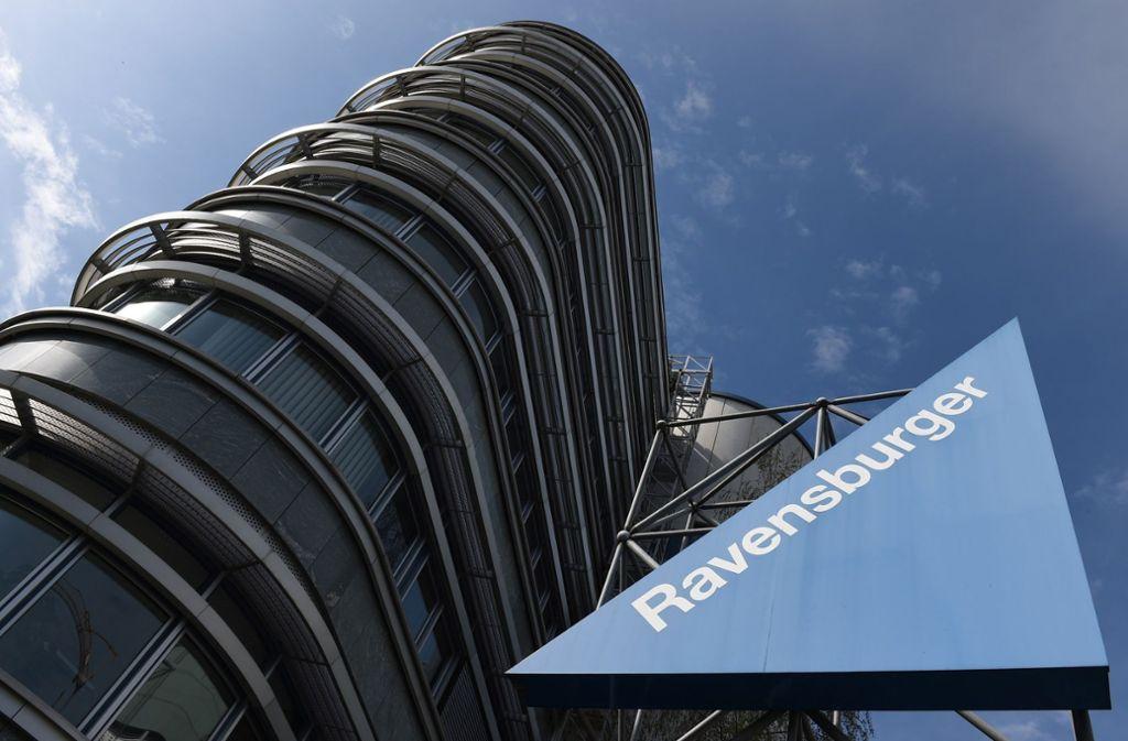 Ravensburger-Zentrale im oberschwäbischen Ravensburg: Der Spieleverlag will weiter expandieren. Foto: Ravensburger AG