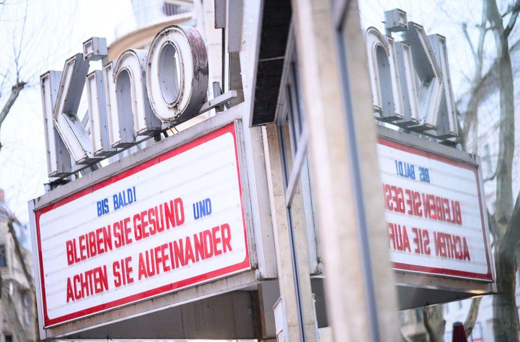 Wann dürfen wir wieder ins Stuttgarter Delphi? Und was wird dann dort gezeigt? Foto: dpa/S. Gollnow