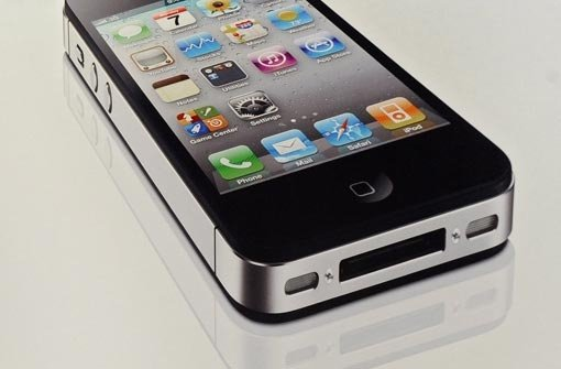 iPhone-Empfang im Glas