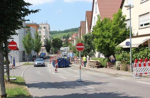 Engpass Stuttgarter Straße